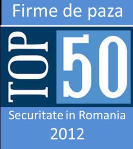 Top 50 firme de paza 2012
