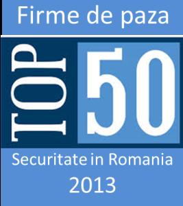 Top 50 firme de paza 2013