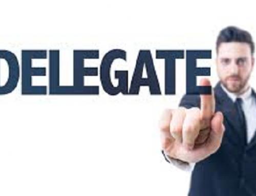 Da pentru delegare, dar cum?