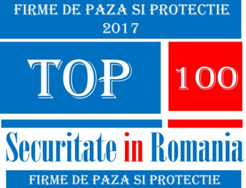 Top 100 firme de paza si protectie 2017