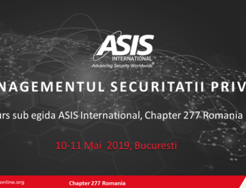 Romania Chapter Private Security Management Course