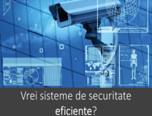 Intreținerea sistemului de securitate